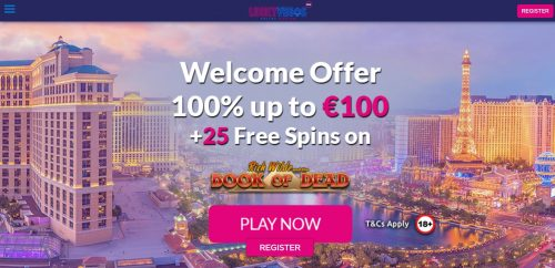Lucky casino free spins 45946