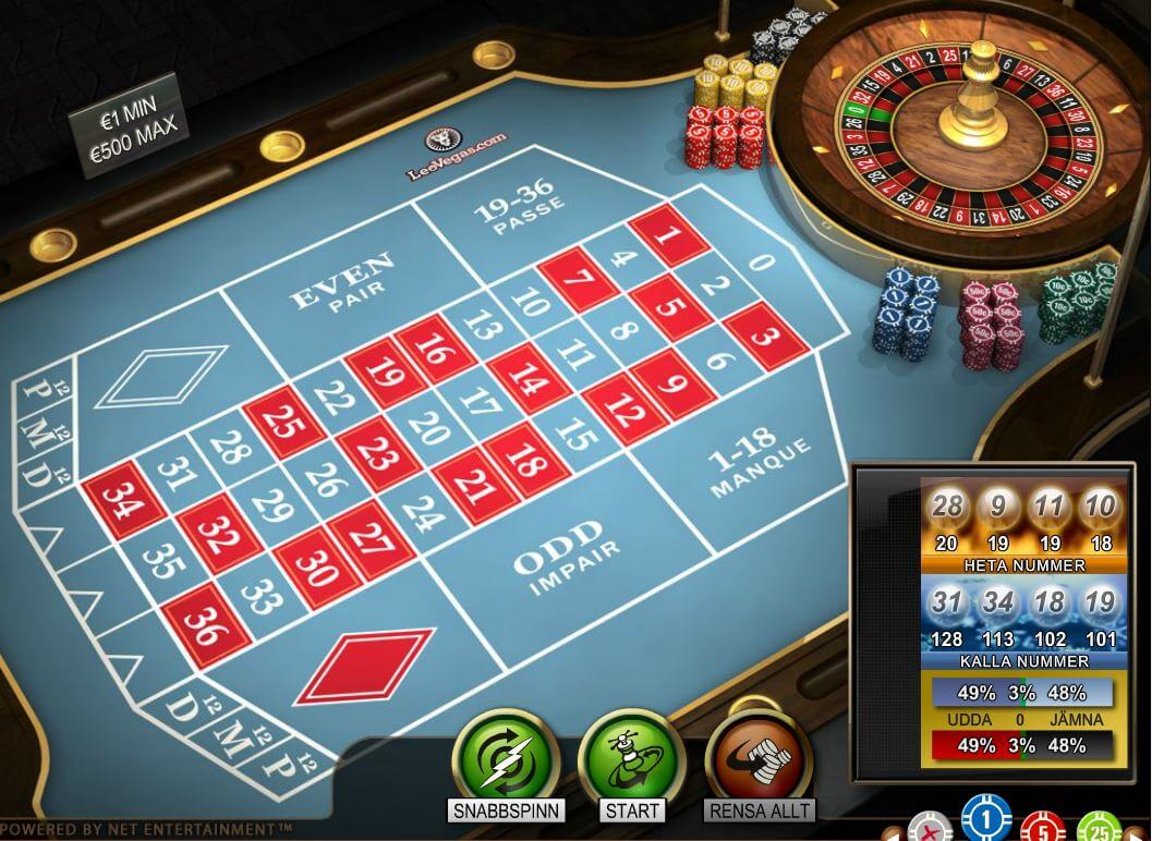 Roulette system 13361